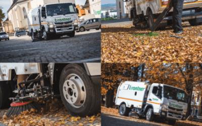 Nové zametacie vozidlo Mitsubithi Fuso Truck