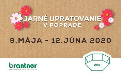Jarné  upratovanie v meste Poprad