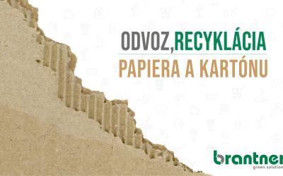 Odvoz a recyklácia kartónu